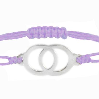Silver + Light Purple