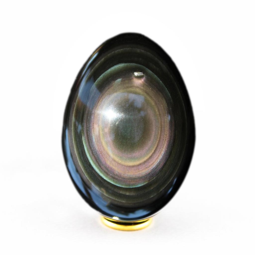Egg Rainbow Obsidian