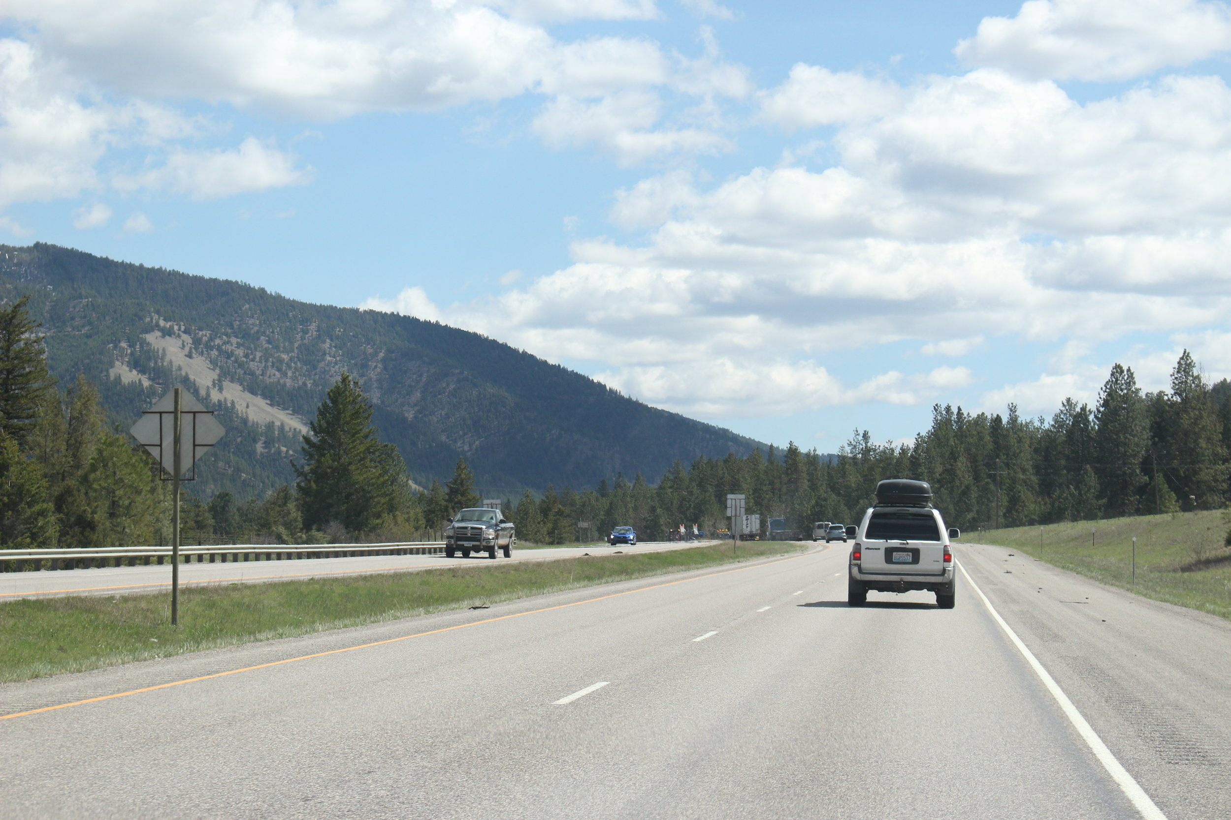 Driving to the Orvis Guide Rendezvous
