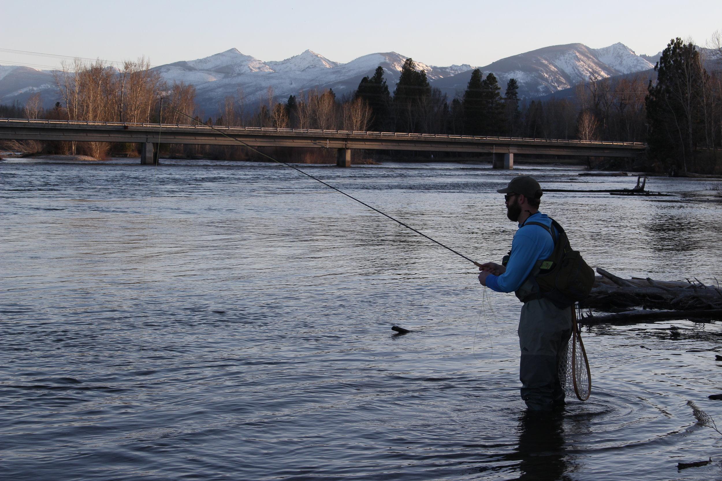 Fishing the Bitterroot River