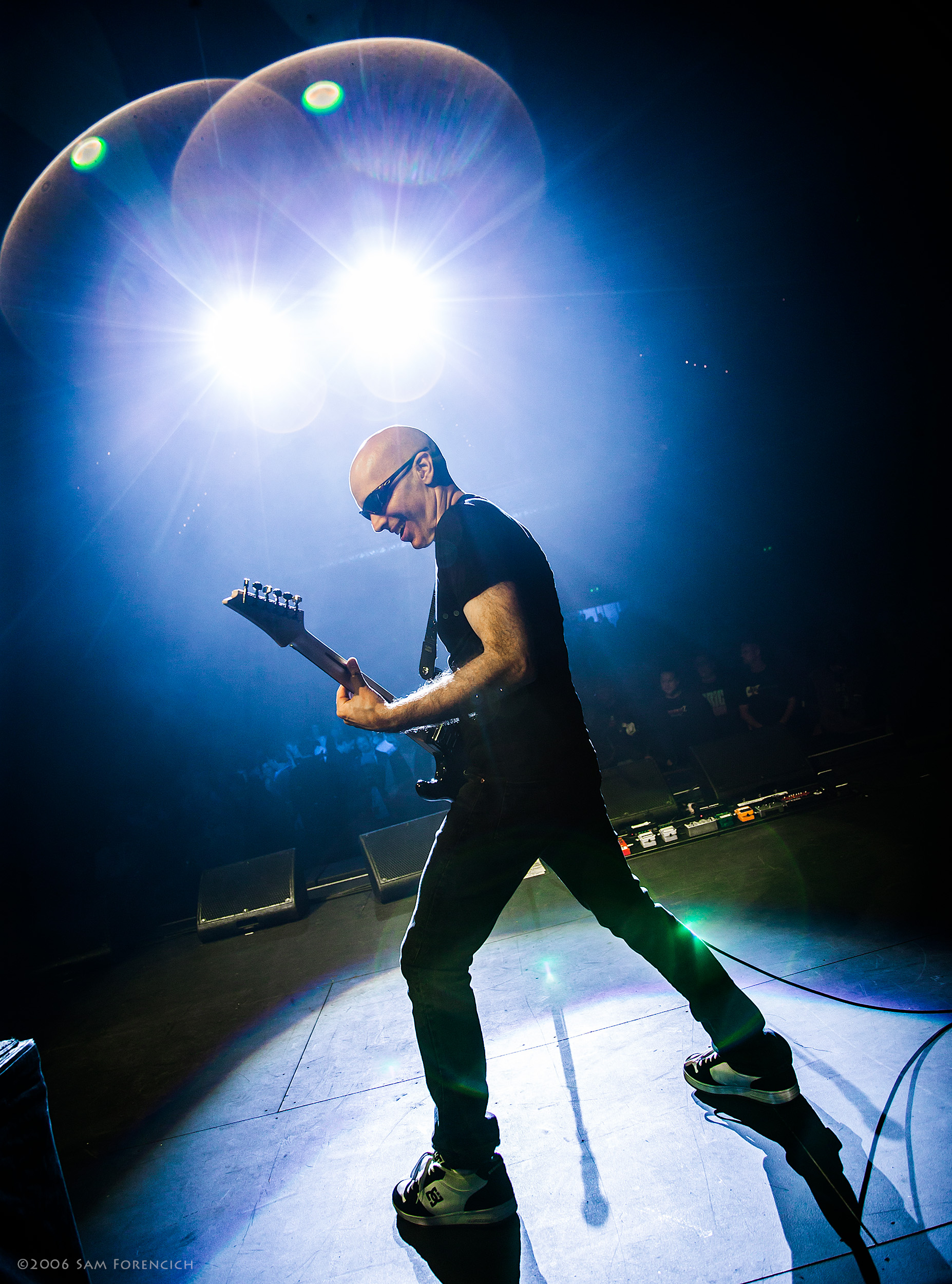 May 2006,Seattle, Washington - Joe Satriani performs at the Paramount Theater - 2006 Super Colossal Tour ©2006 Sam Forencich