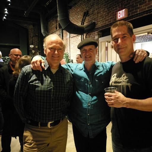 John and Jim with bass player Mark Schatz