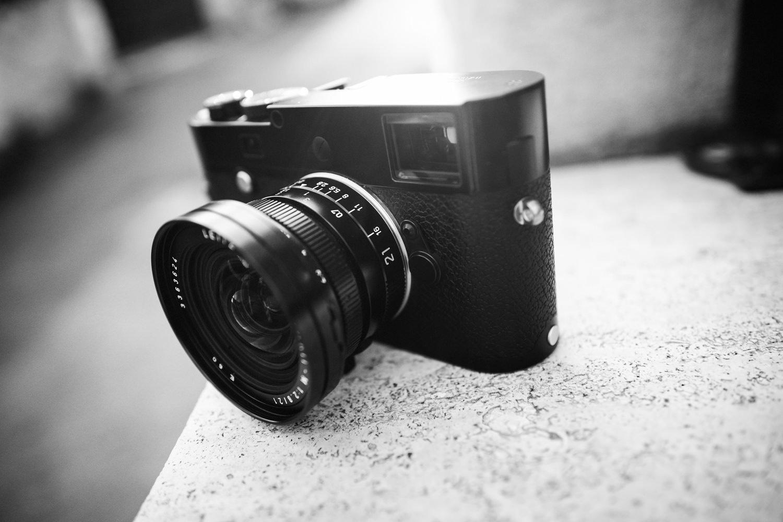 My Leica MP Typ240 wih the 21mm Elmarit lens.