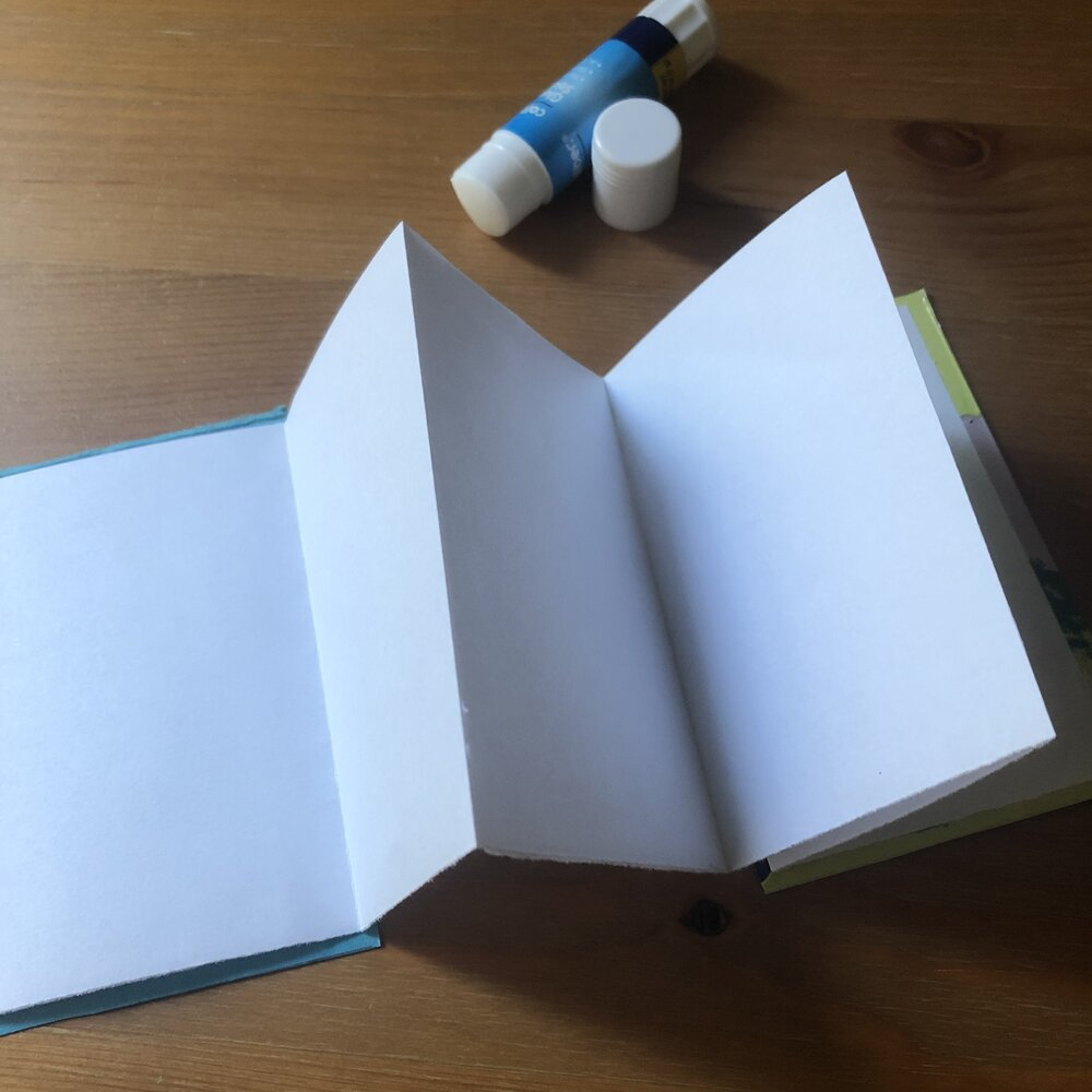 Glued pages
