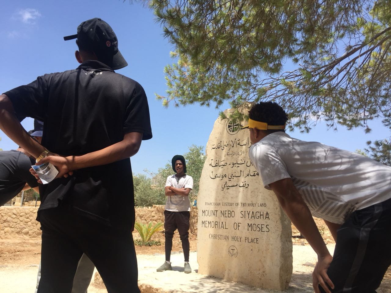 Mount Nebo - From Mount Nebo,you can see the Promised Land that God showed Moses, as well as the Dead Sea and Israel.