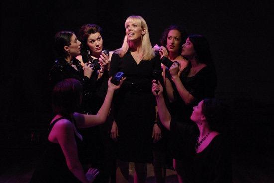 Luisa Contini, Nine , Porchlight Music Theatre (Photo by  Michael Brosilow )