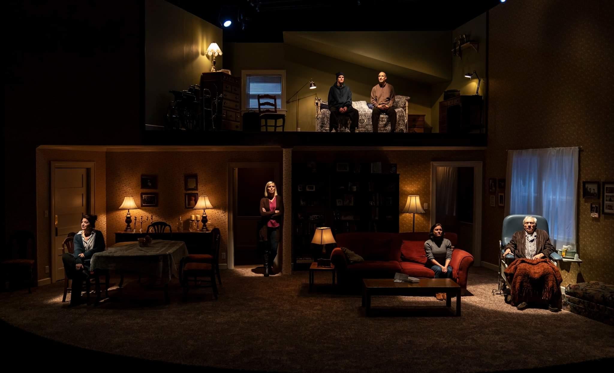 Ellen Manning,  If I Forget , Victory Gardens Theatre (Photo: Liz Lauren)