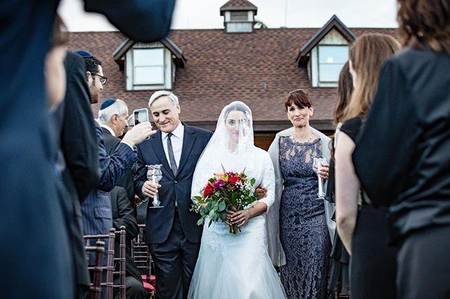 Here comes the bride!!