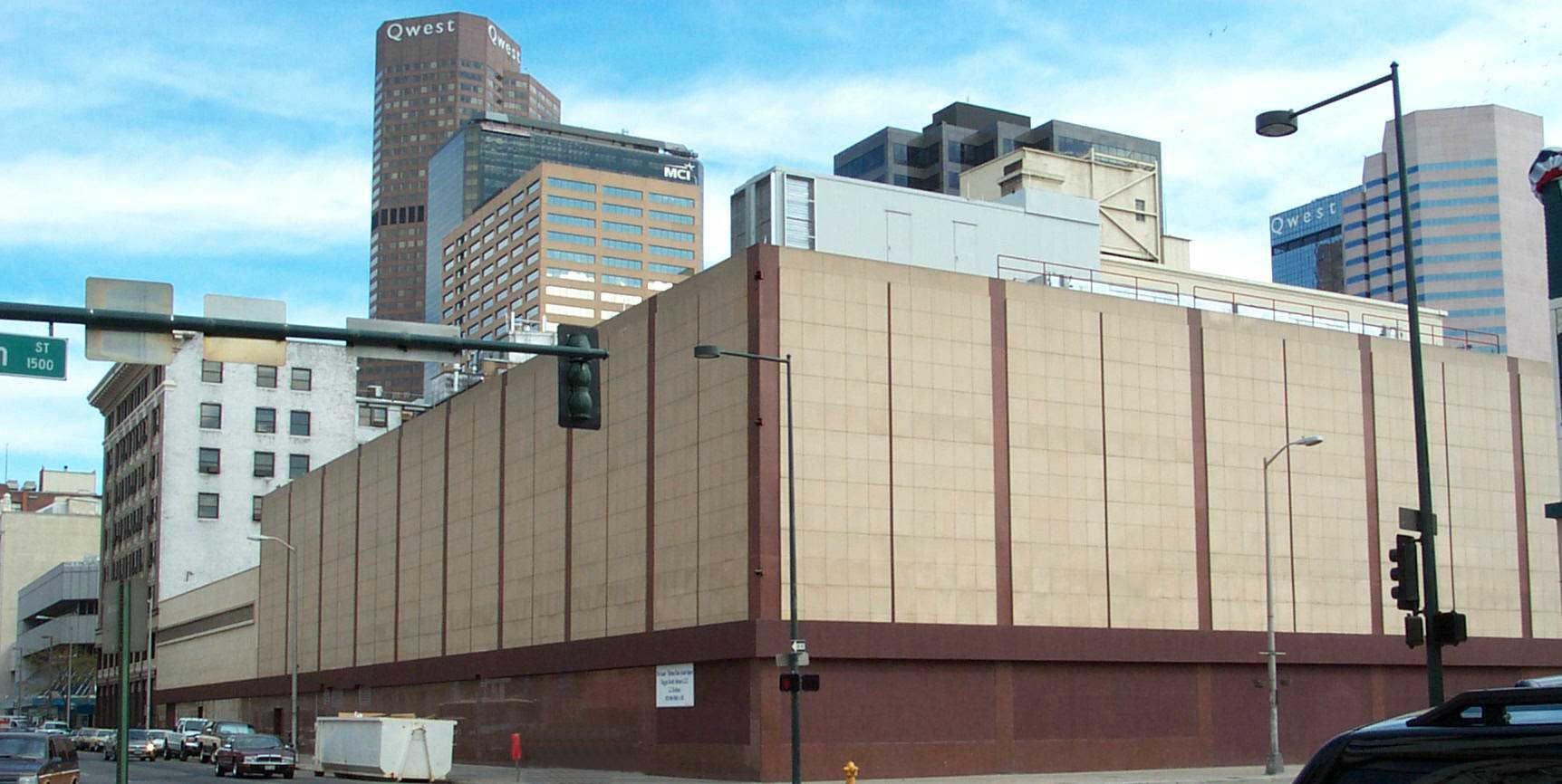 FORMER MAY COMPANY BUILDING    COMMERCIAL USE - Denver, CO    135,000 square foot data/telecom building in downtown Denver