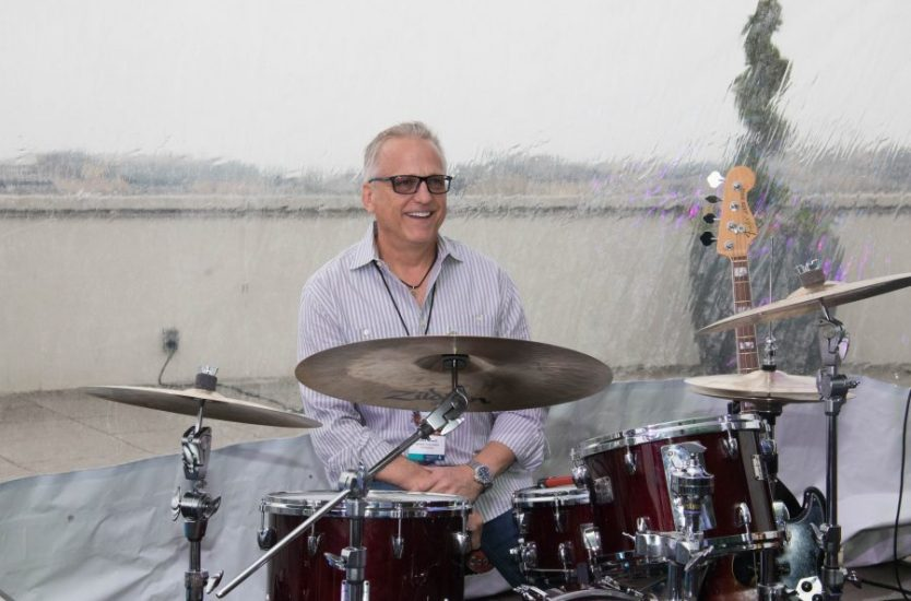 Dave Jewell of Yamaha. Roadie for a Day Contest 2019