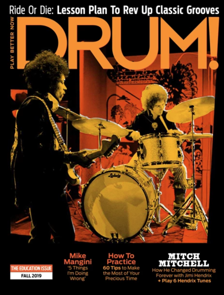 Dr. Craig woodson interview - DRUM! MAGAZINE - Drum set in the classroom