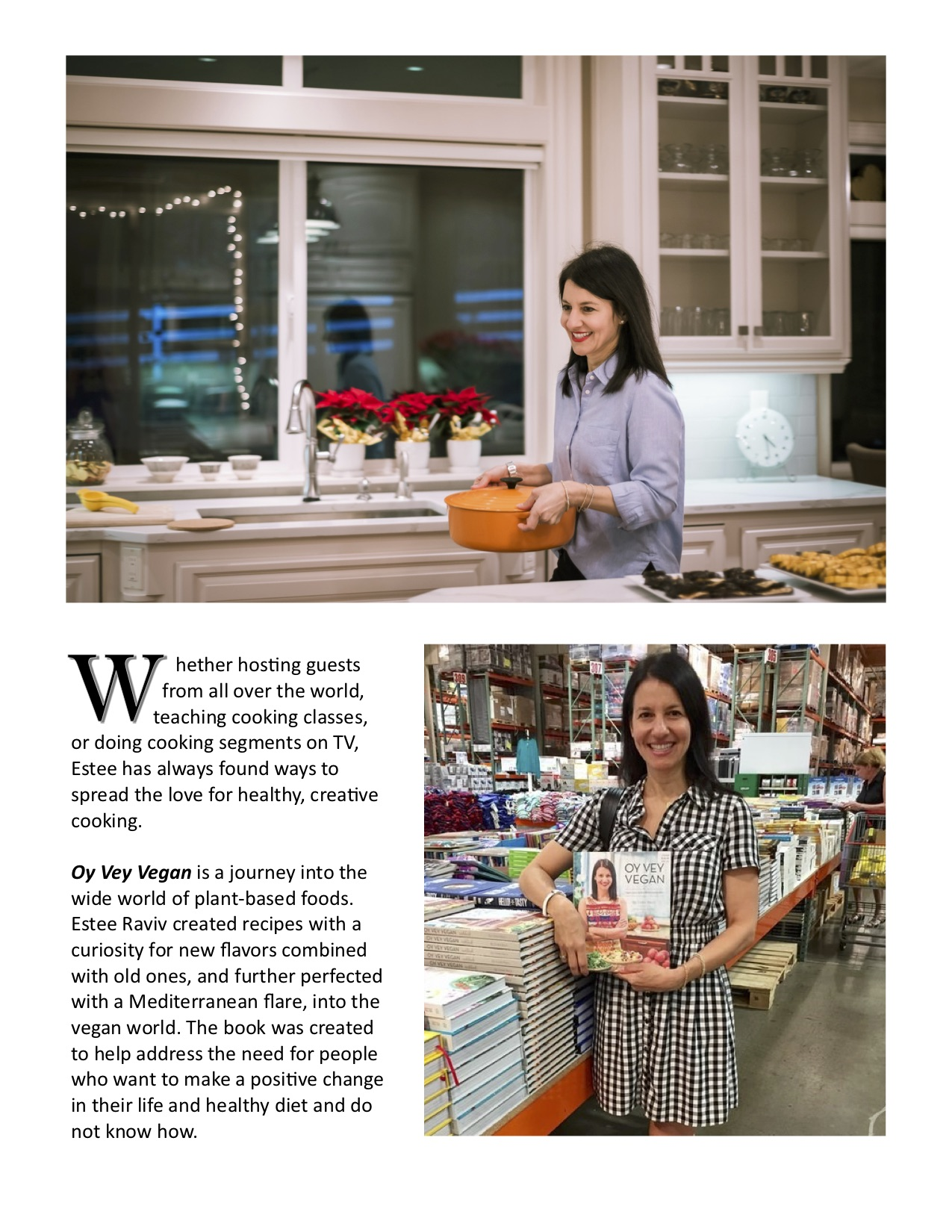 Estee Vegan Lifestyle Magazine Article pg 3.jpg