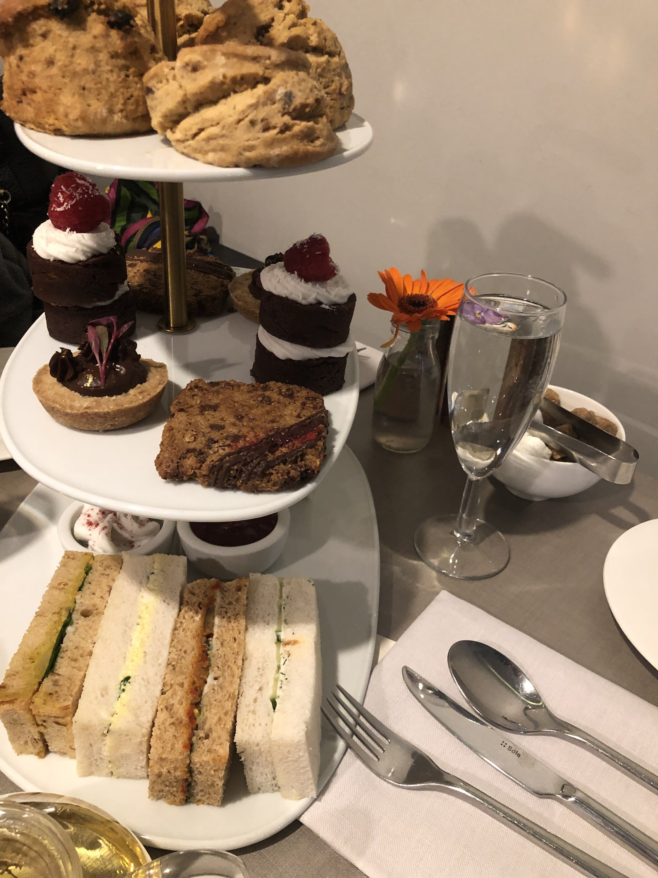 High Tea @ Cate Forty One, London, UK