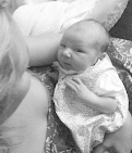 positive testimonial about letting go of worries about birth