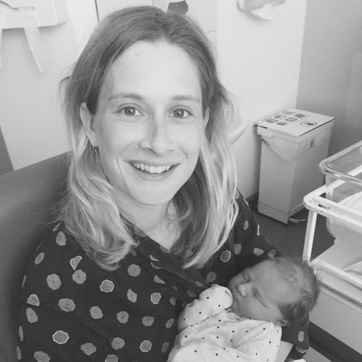Inspirational story about giving birth to a big baby