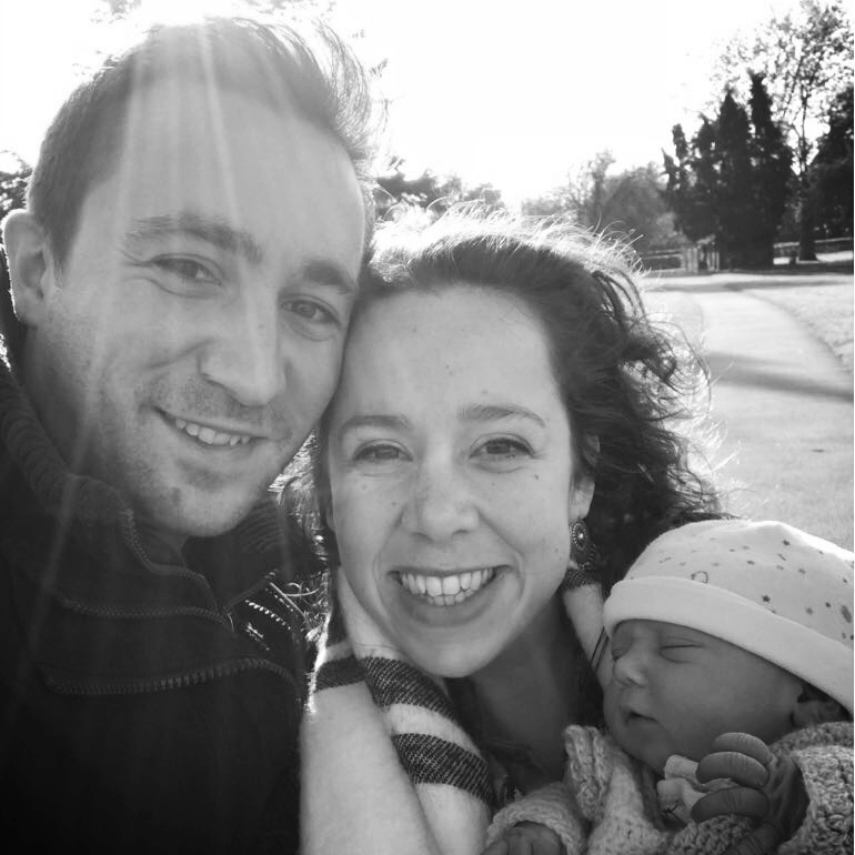 Susannah, Tom and baby Jasmine