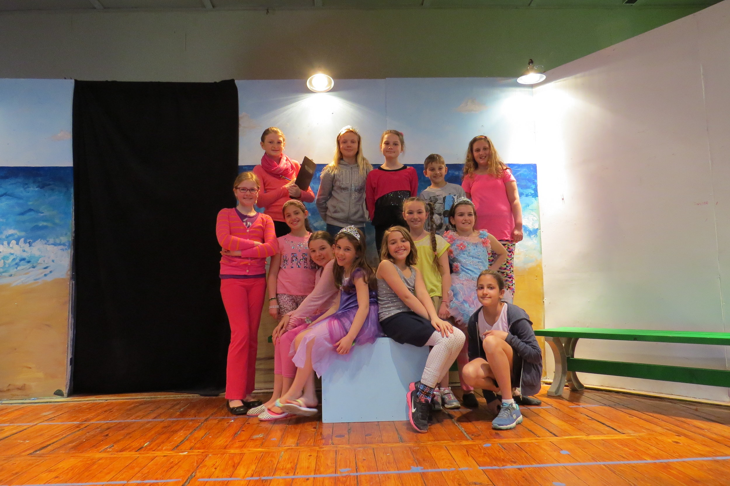 The cast of the NY Production of THE SPELL