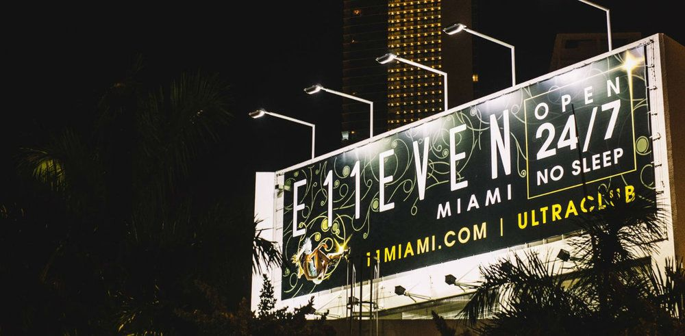 Hot Spots in Downtown Miami