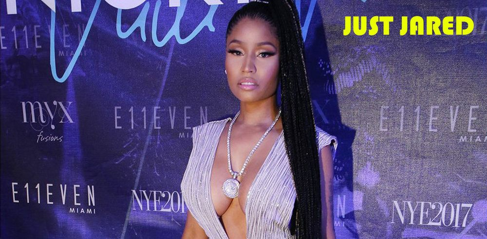 Nicki Minaj Jumps Into 2017 at a Miami New Year's Eve Party