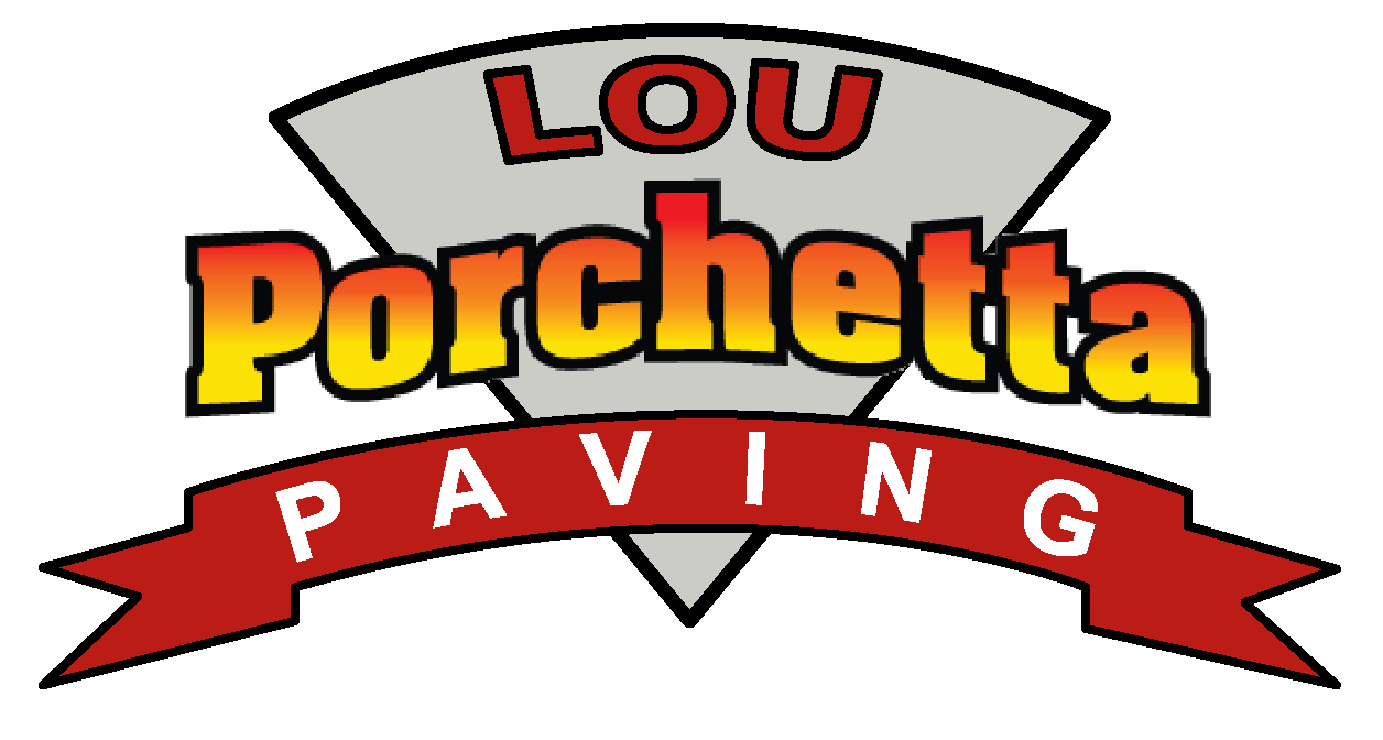 Lou Porchetta PAving Logo, paving company for northern new jersey specializing in Driveways and stone masonry
