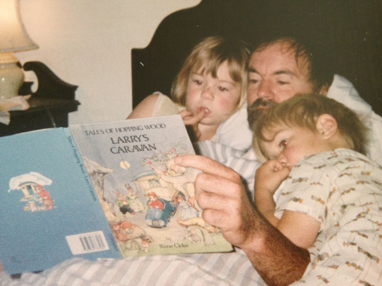 Dad and Larry's Caravan
