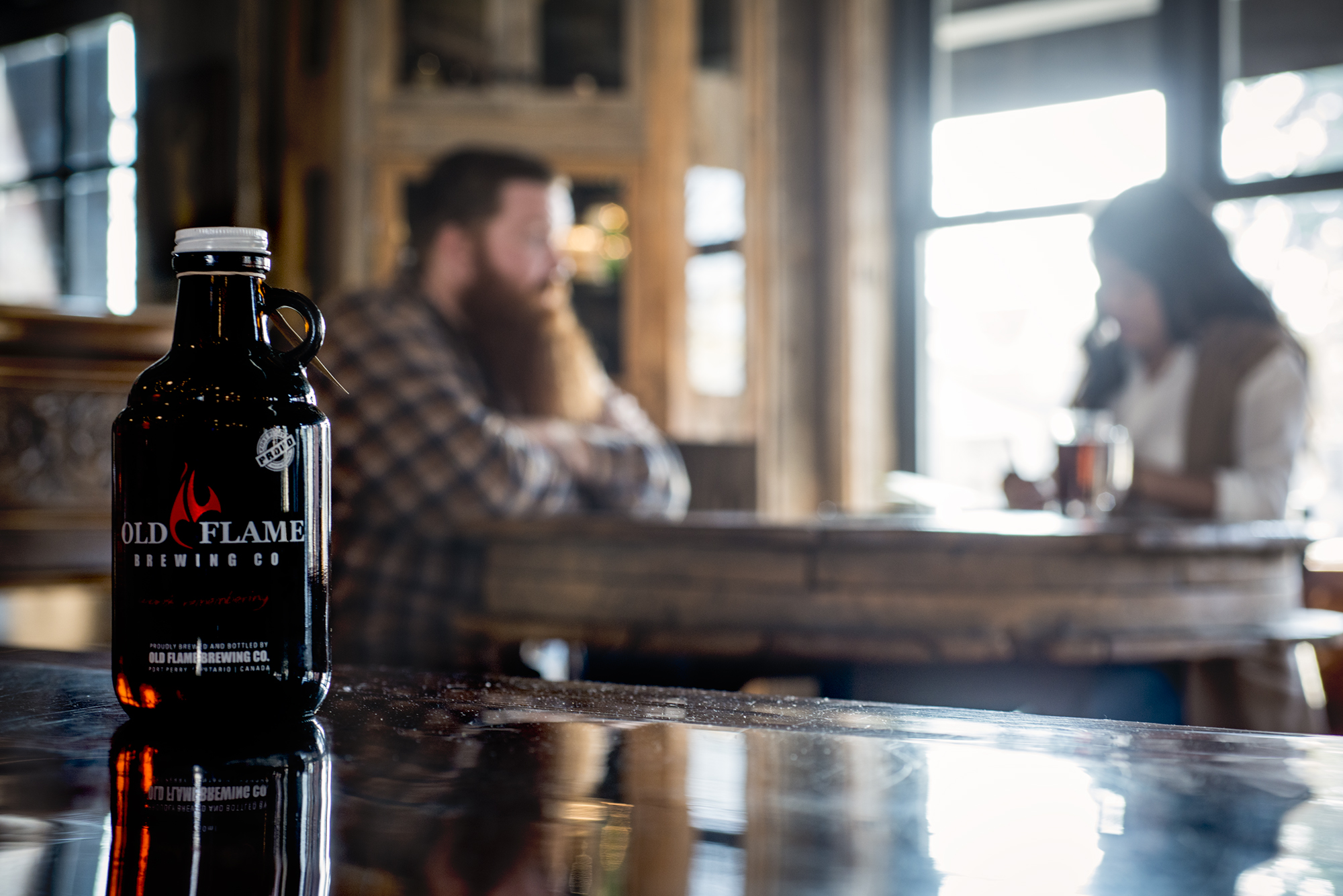 Try craft beer tasting at Old Flame Brewing Co. in Port Perry, Ontario