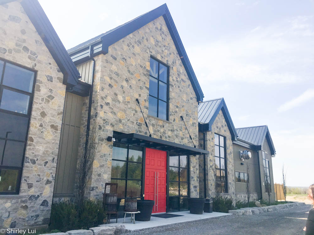 Adamo Estate Winery in Mono, Ontario