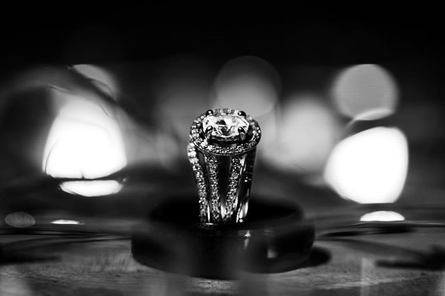 """Worn to symbolize a lifetime's promise of love and commitment, the engagement ring is the most meaningful gift a man and woman will receive. —Shimanaky • • • • • • • • • • • • 