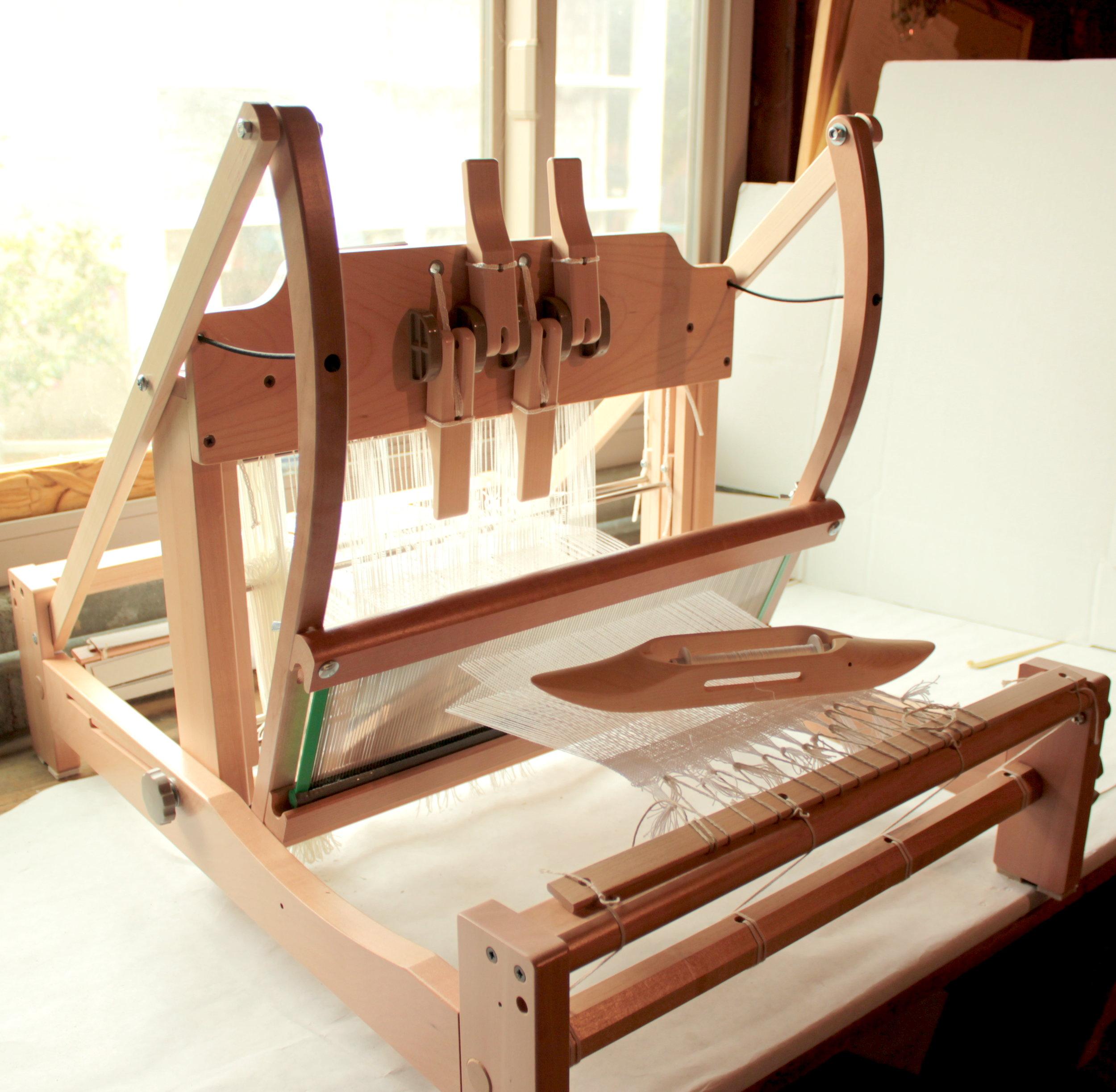 Preparing looms 1.JPG