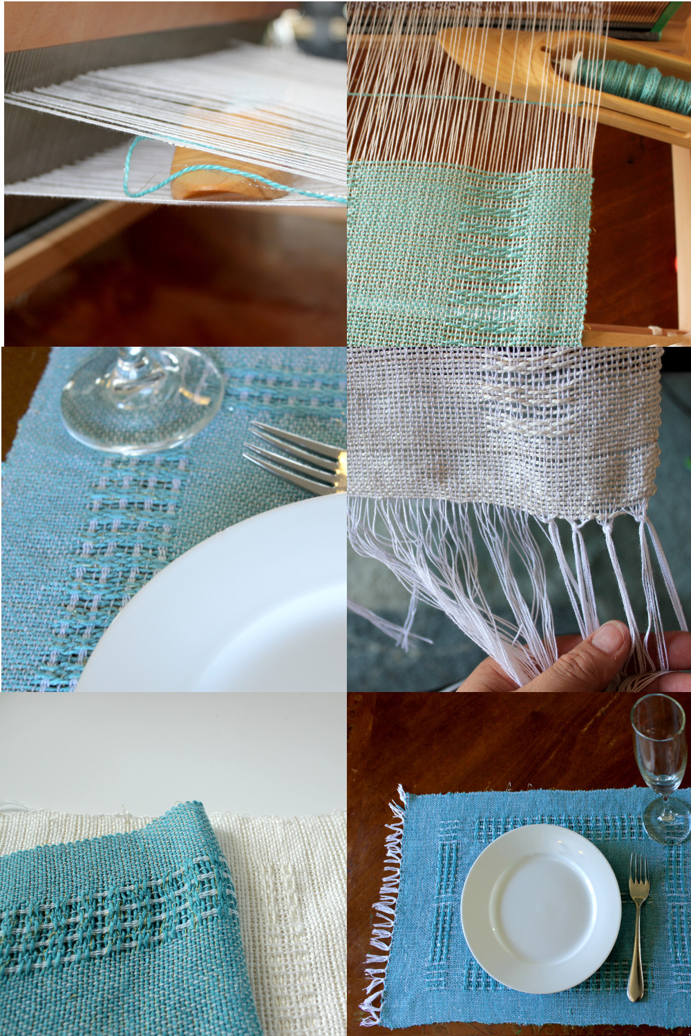 Swedish Lace Place mats - Weaving