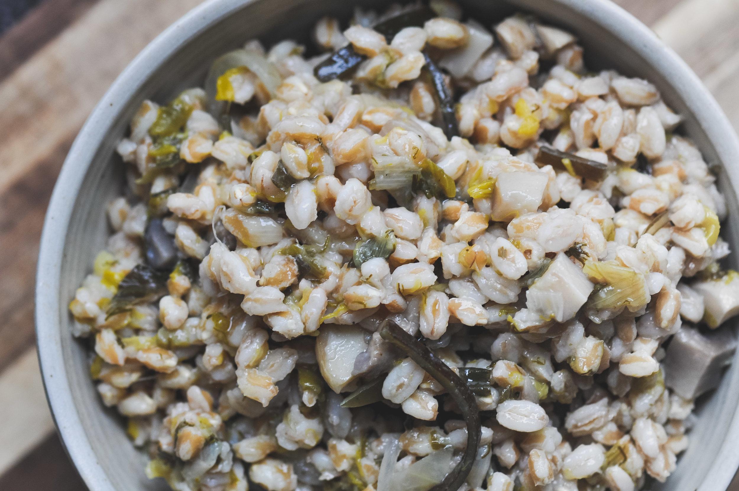 Nourishing Kombu Grain Bowl
