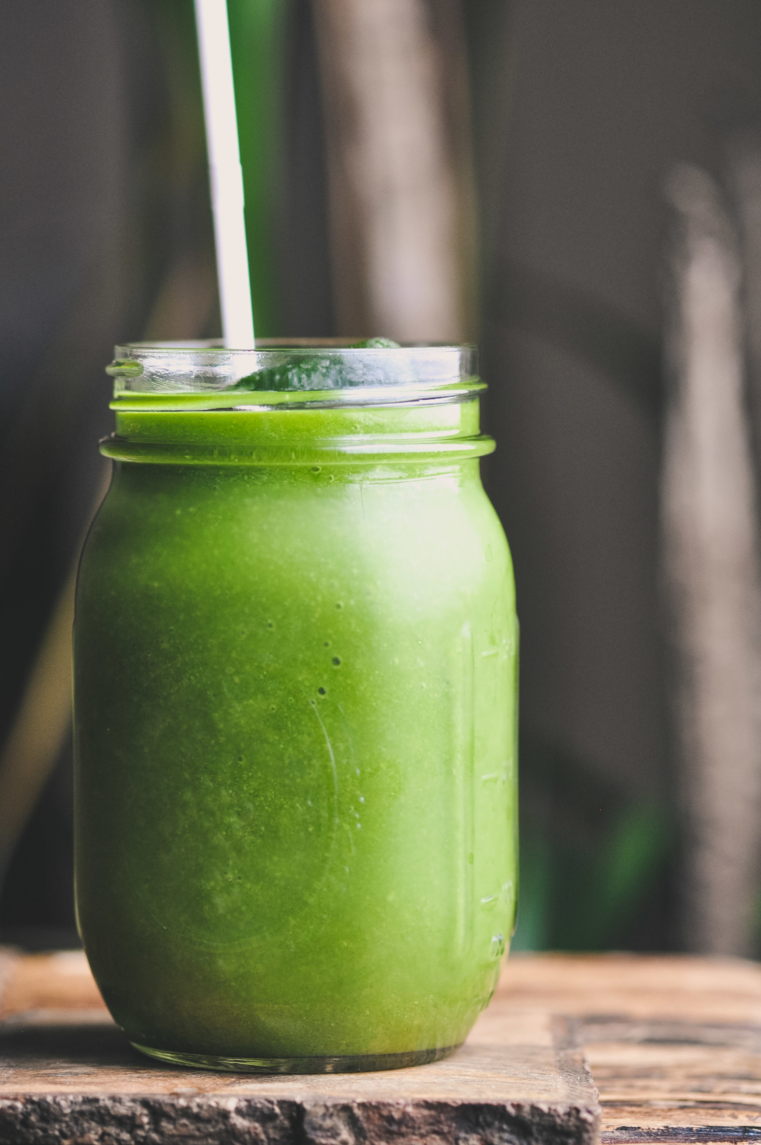 Citrus Green Smoothie & Greens Cubes