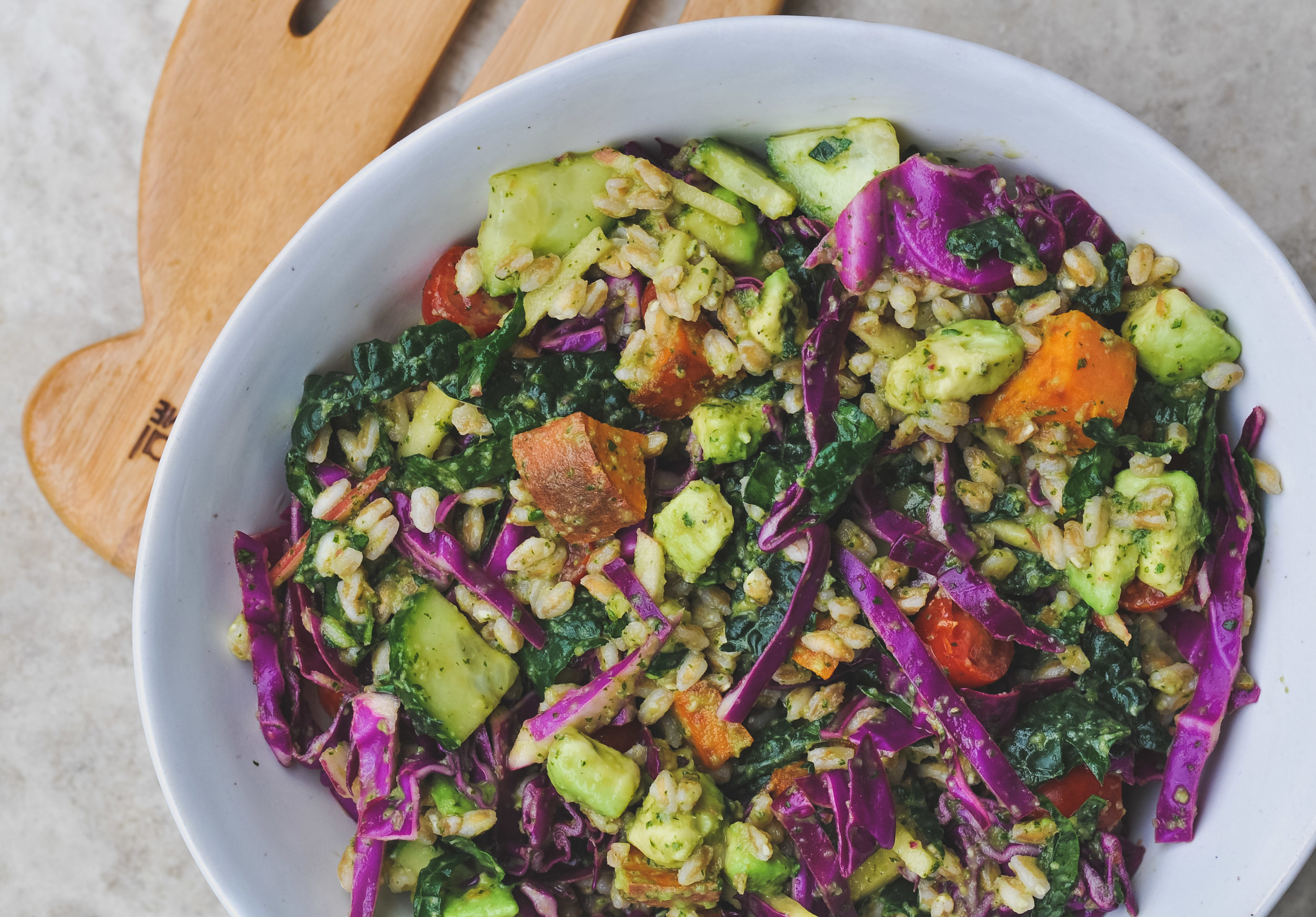 Apple Cilantro Salad