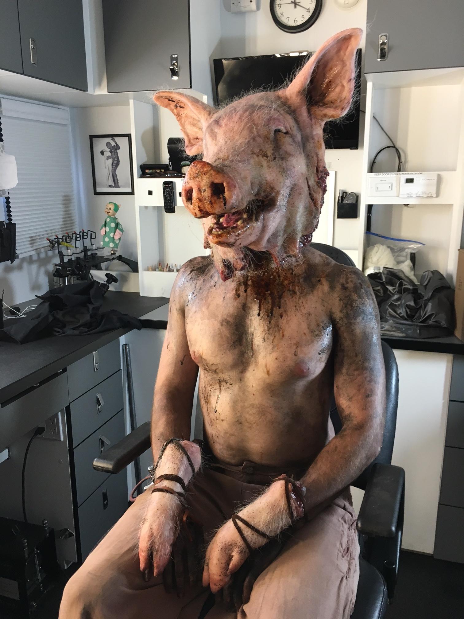 piggy man - american horror story: roanoke