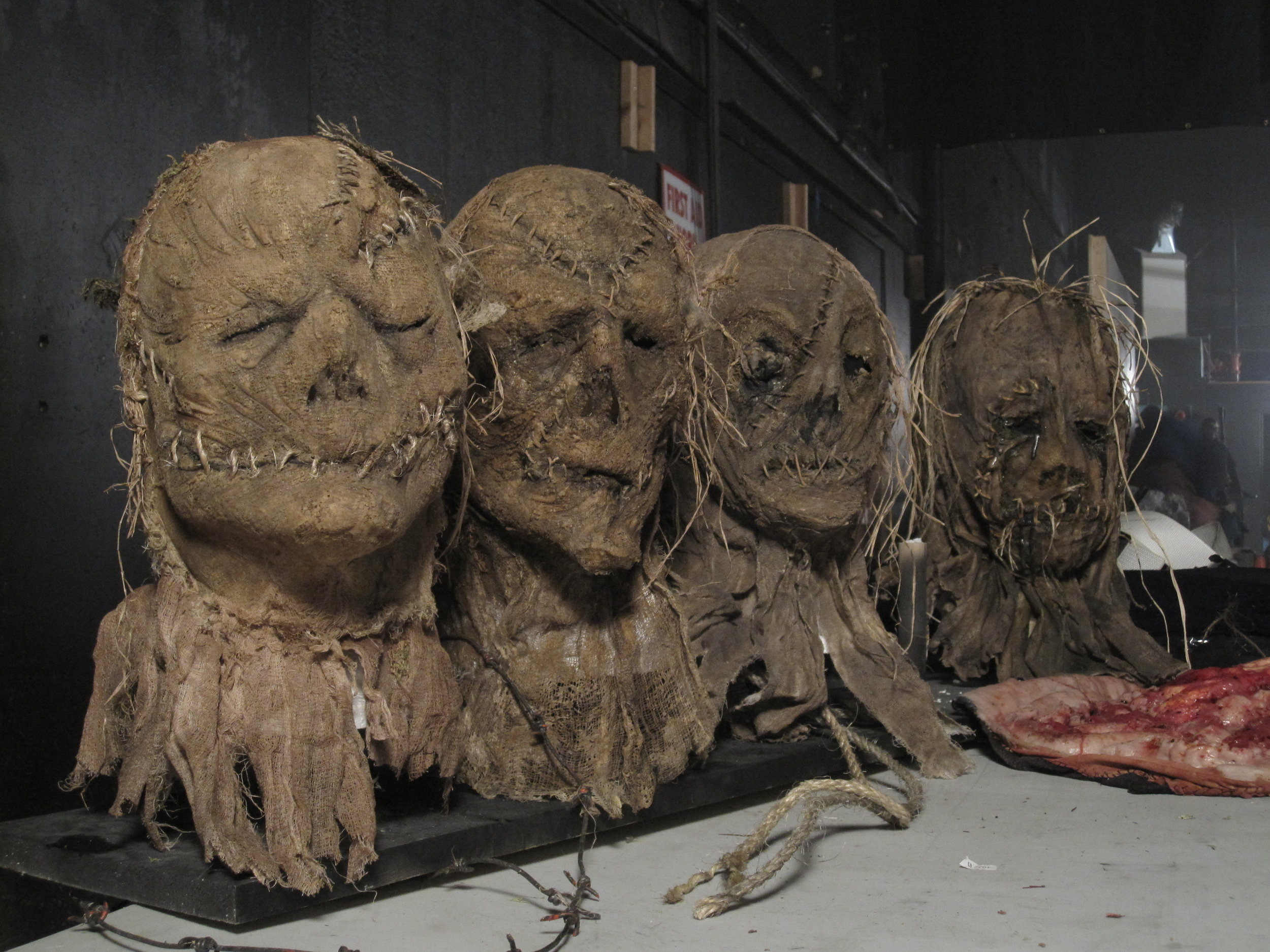 SCARECROW MASKS - CABIN IN THE WOODS