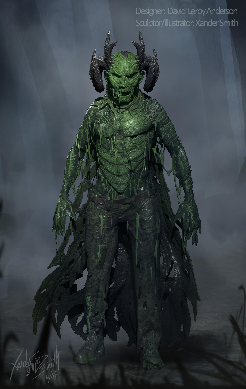green meanie illustration - scream queens (season 2)
