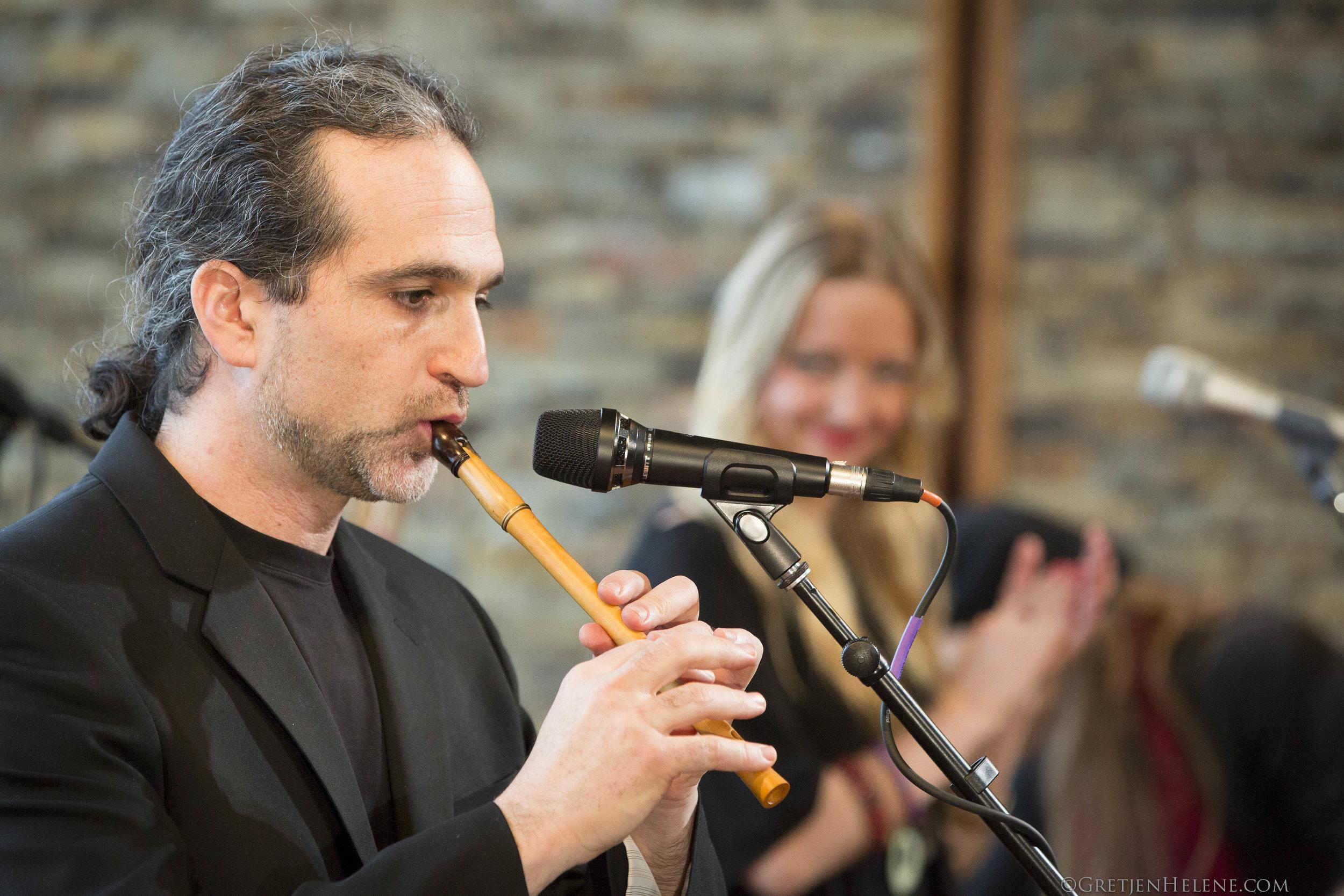 Guy Mendilow Ensemble - Andy Bergman - Photo by Gretjen Helene - 300dpi