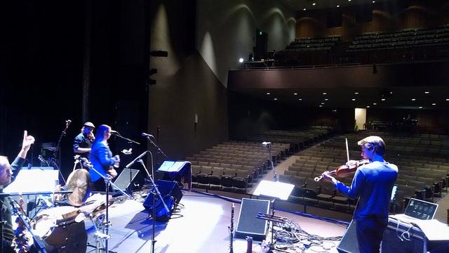 Soundcheck, Kathryn Morhrman Theatre, Colorado Springs, CO
