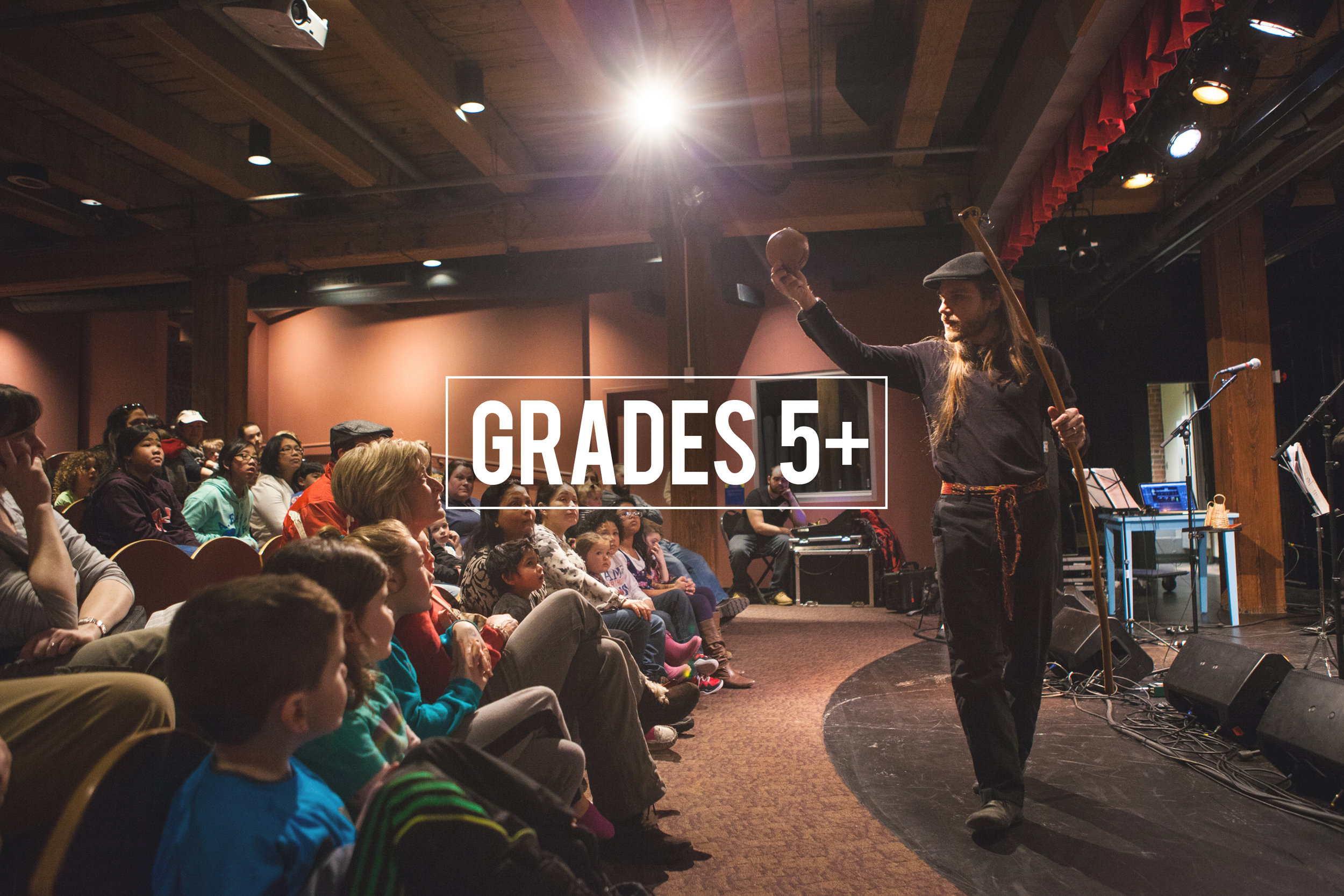 Residencies, Workshops and Performances for  Grades 5+  in Schools / Theatre Youth Series