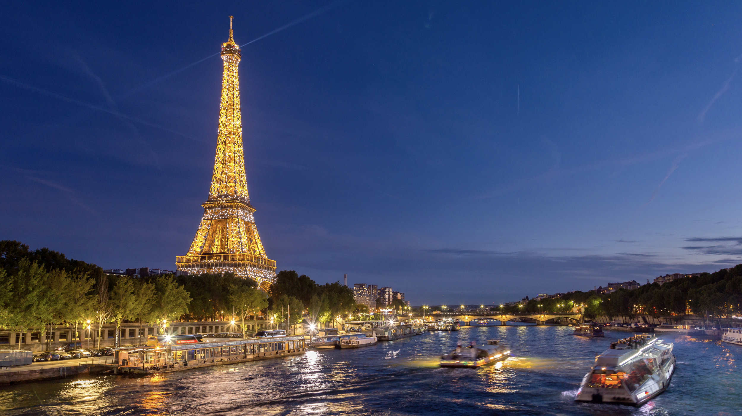 Hd Paris Eiffel Tower And Seine River At Dusk Emeric S Timelapse