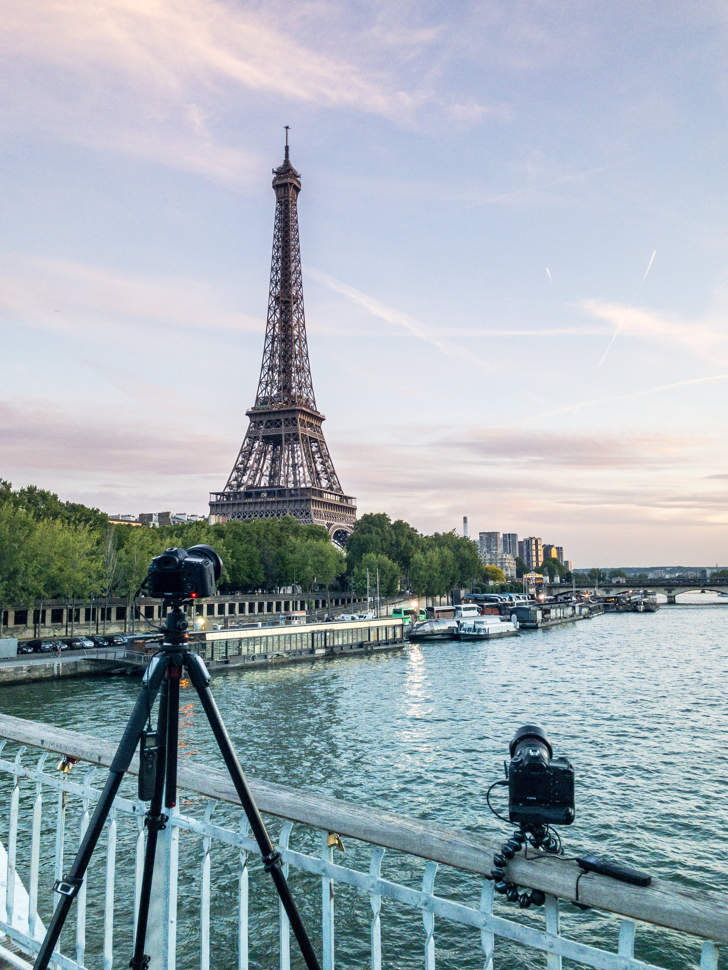 Shooting Holy Grail timelapses in Paris, France.