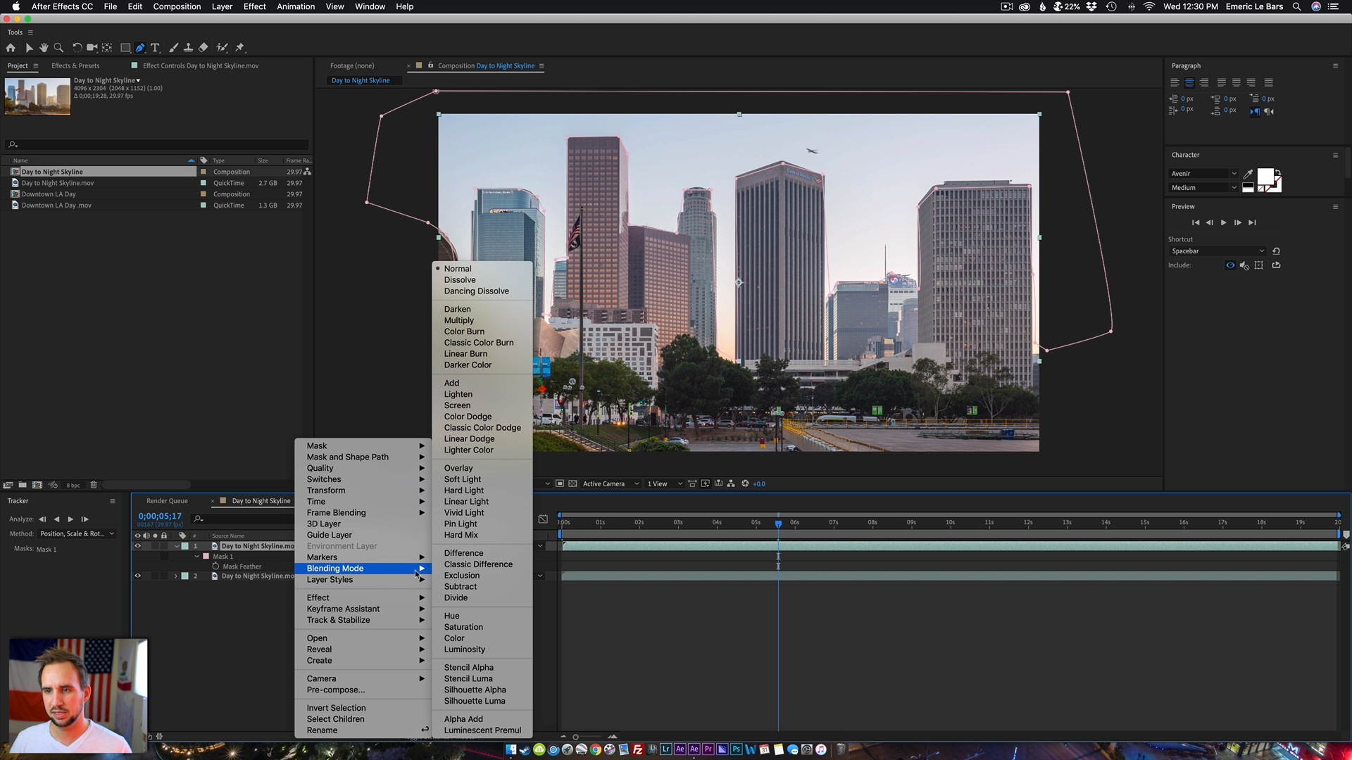 AFTER EFFECTS DAY TO NIGHT CLEANING Timelapse Masterclass 2019