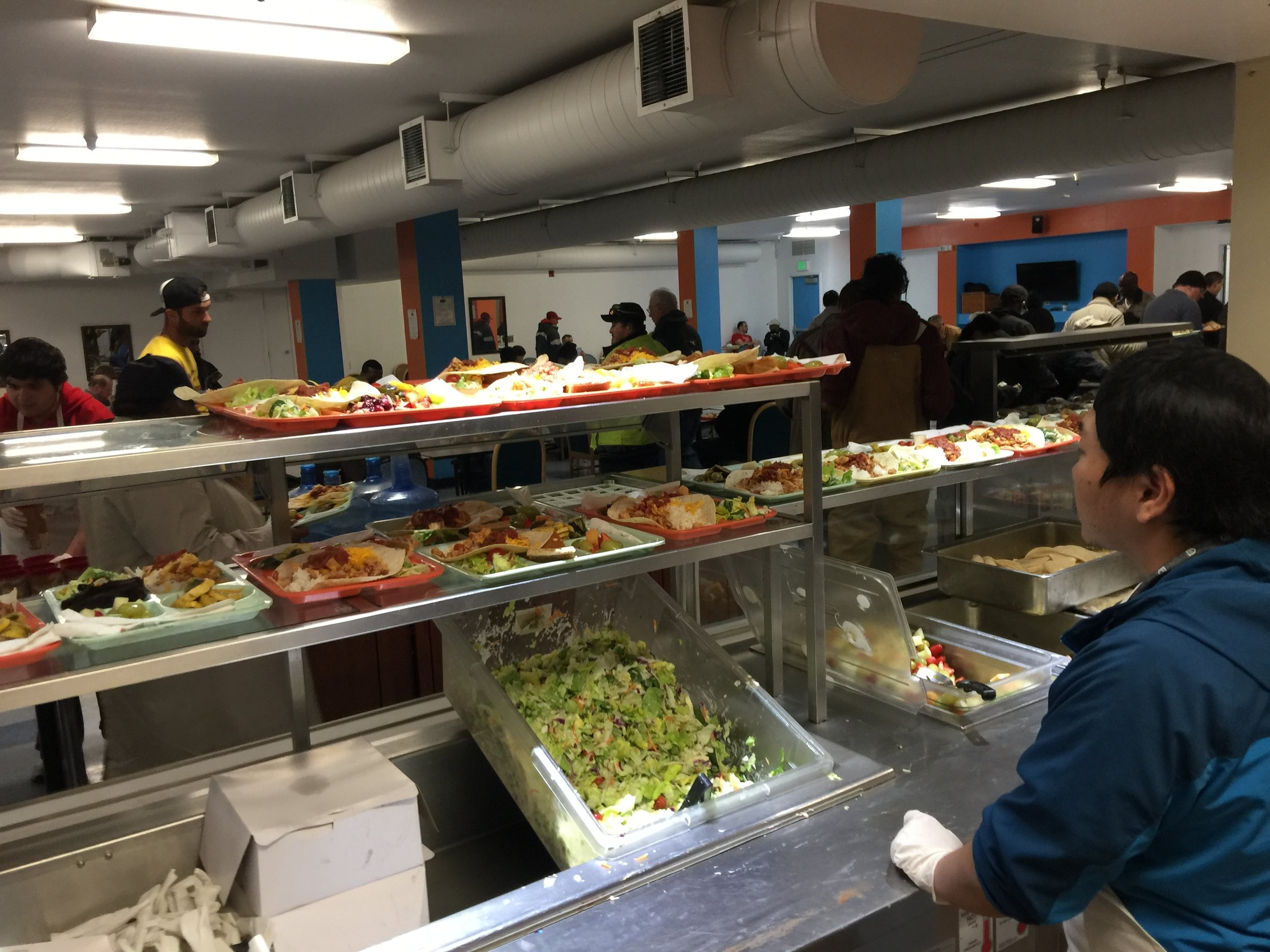 SERVING THE HOMELESS AT CITY TEAM MINISTRIES