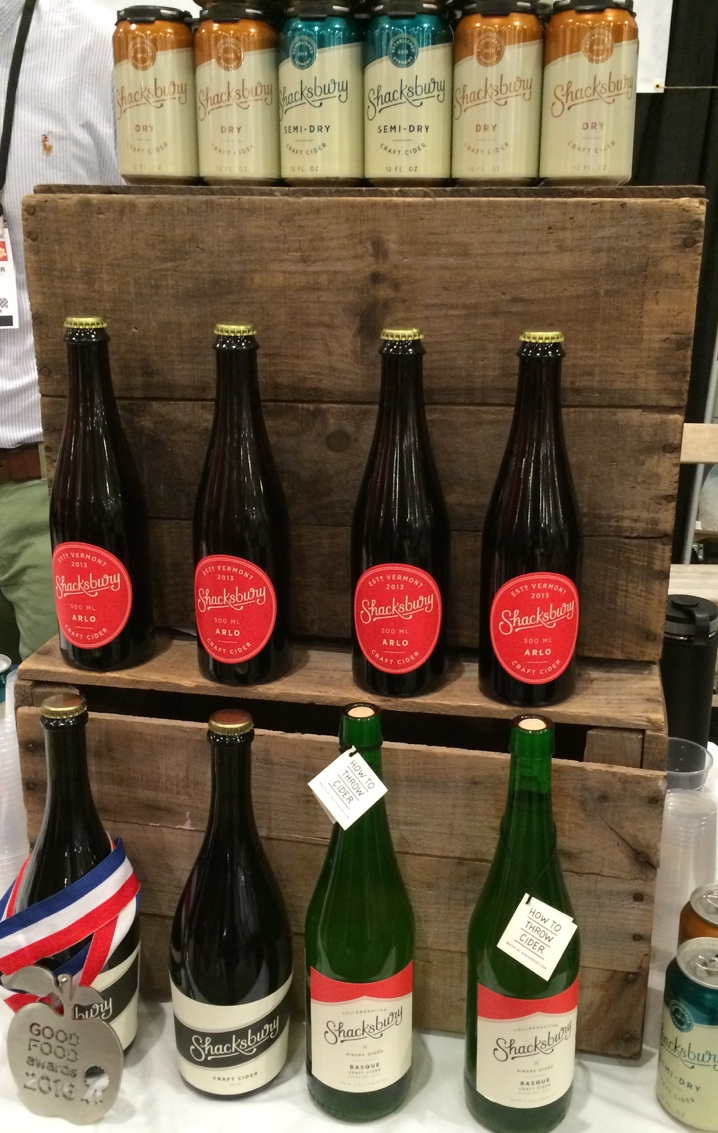 Shacksbury Cider from Vermont at Summer Fancy Food Show, New York
