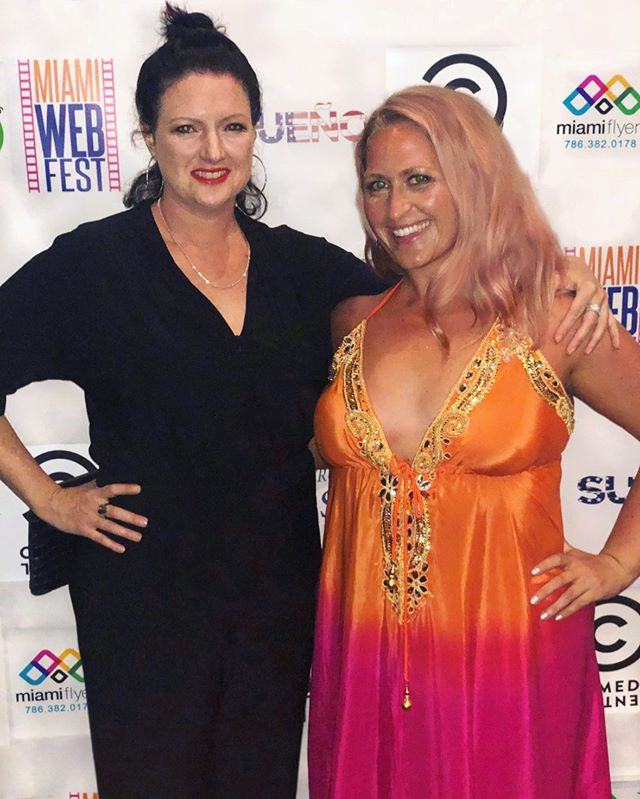 Wholesome Foods, ILY... writer/creator/actress @hovsepian and the incredibly talented @marlenerhein of @thesosoyoudontknow had the best time @miamiwebfest this past weekend! • Congrats to everyone who made this year's festival a huge success 💫 • And if you haven't tuned in yet, check out Wholesome Foods, I Love You... Is That OK? starring Krista Hovsepian & Mean Girls heartthrob Daniel De Santo on SeekaTV & Amazon Prime (links in bio) 🥑