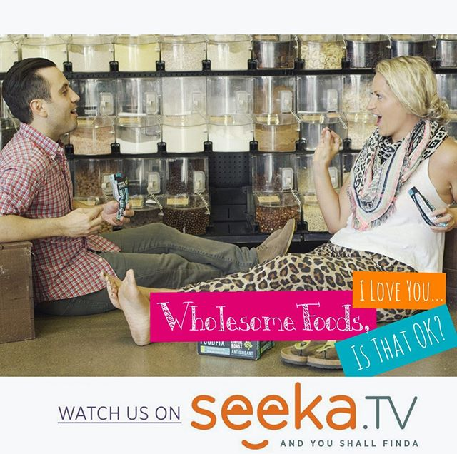 Did you guys know we're on @seekatv too?! • Hop on over to watch our 3-time Indie Series Award nominated comedy Wholesome Foods, I Love You... starring Krista Hovsepian & Daniel De Santo (Mean Girls, Are You Afraid of the Dark) 🥑🌟🎬 • Link in bio (AND! You can stream @seekatv shows via Roku, Apple TV, Google Play, the App Store, & Amazon!) 💫