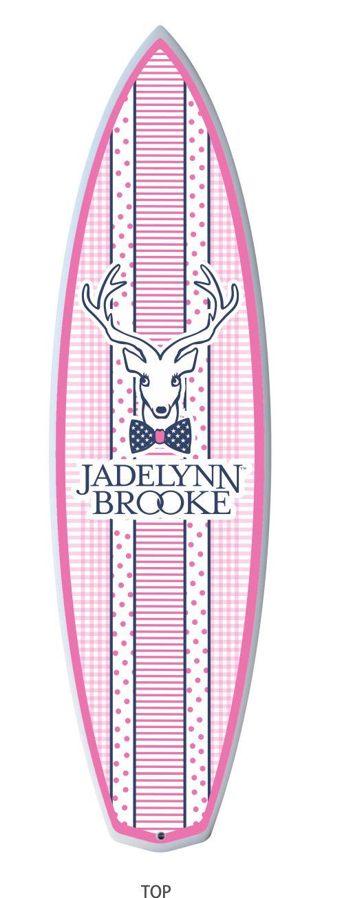 Jadelynn Brooke - Fiberglass Surfboard.jpg
