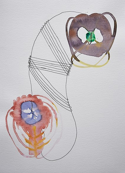 "Study 3   Watercolor   9"" x 12"" 2015"