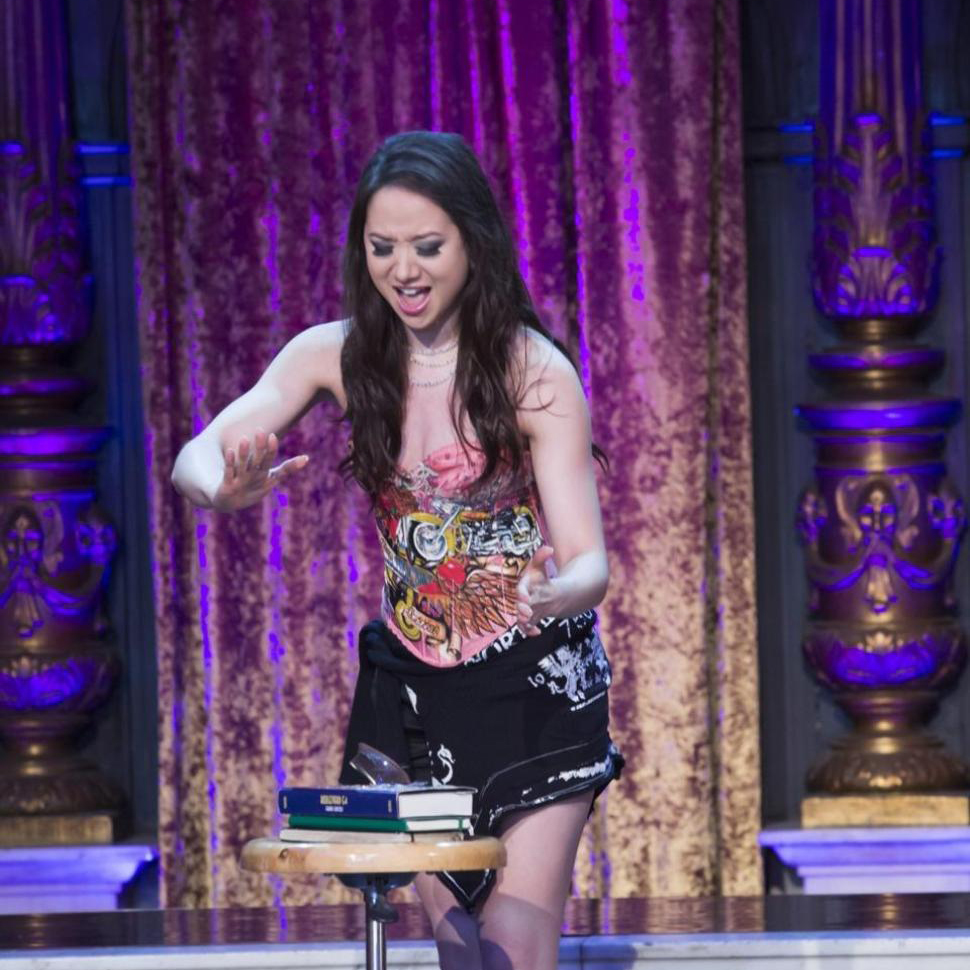 """Wizard Wars (SyFy)   Magicians work to create jaw-dropping illusions using random objects. The winning challengers face the """"home team"""" of four world-renowned magicians including Angela, the mind-reading specialist."""