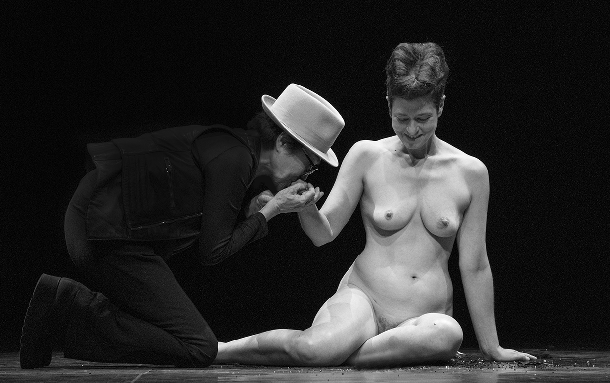 Yoko with Peaches